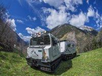 Veicolo anfibio estivo in Andorra adulti 40 min