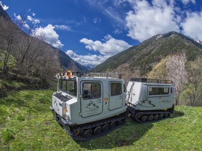 Excursión en vehículo anfibio por La Massana