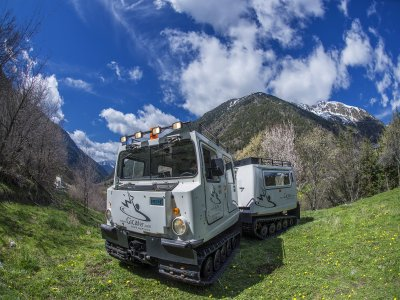 Amphibious vehicle summer in Andorra 40 min