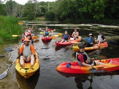 Ruta fluvial en kayak por el Miño de 2 horas