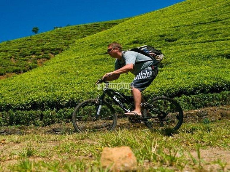 Sigue pedaleando