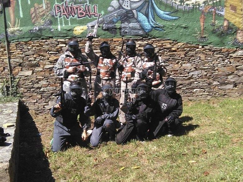 Batalla de Paintball