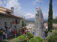 6 meter climbing wall, even the smallest can