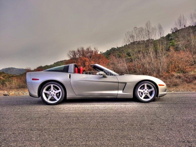 Corvette en carretera
