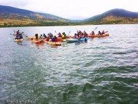 Piraguismo en Lozoya para ninos