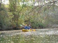 Rutas en Kayak por tramos tranquilos
