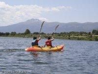 独木舟在洛索亚洛索亚Piraguismo儿童