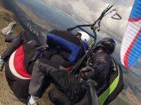 vuelo en paracaidas