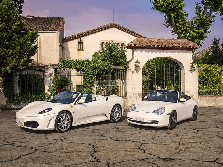 Ferrari e porsche