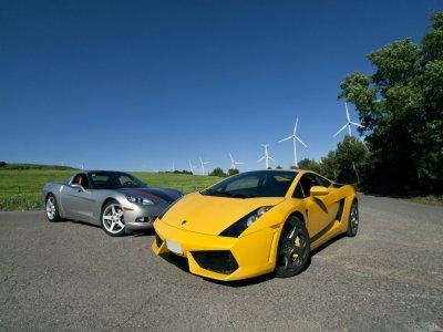 Pilotar Lamborghini y Corvette en Córdoba 40 km