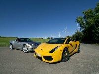 Corvette y lamborghini