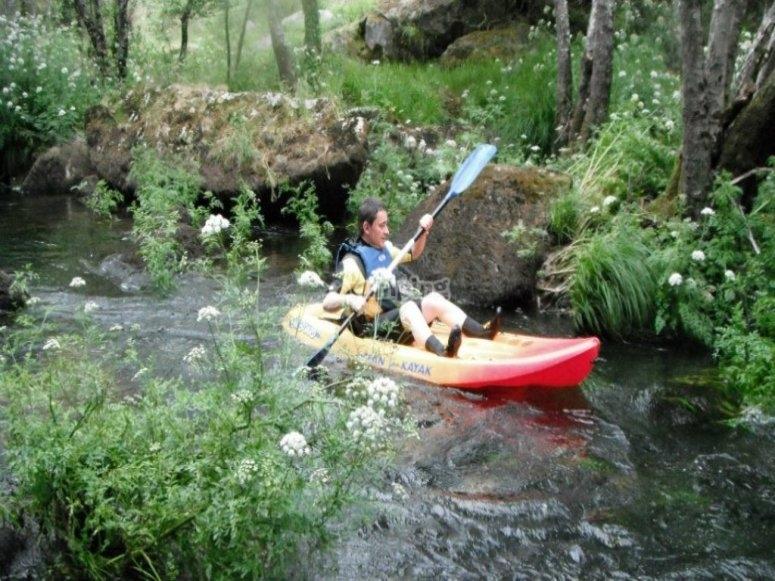 Kayaking en rio