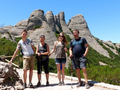Excursion in Montserrat
