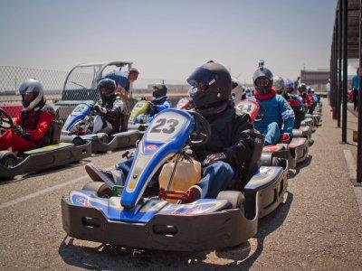 Carrera de karts en Madrid para niños