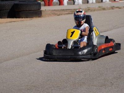 Go Karting biplaza en Madrid para adulto y niño
