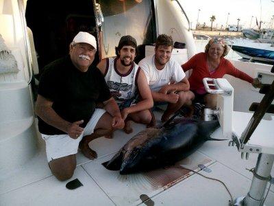 Salida de pesca de marlín azul Cádiz una jornada