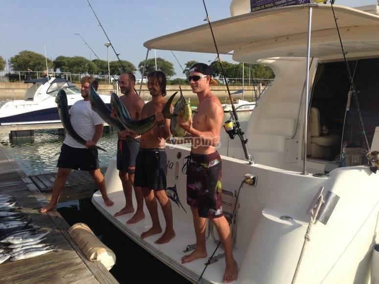Con las pescas