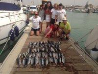 Pesca al curricán desde Chipiona 8 horas