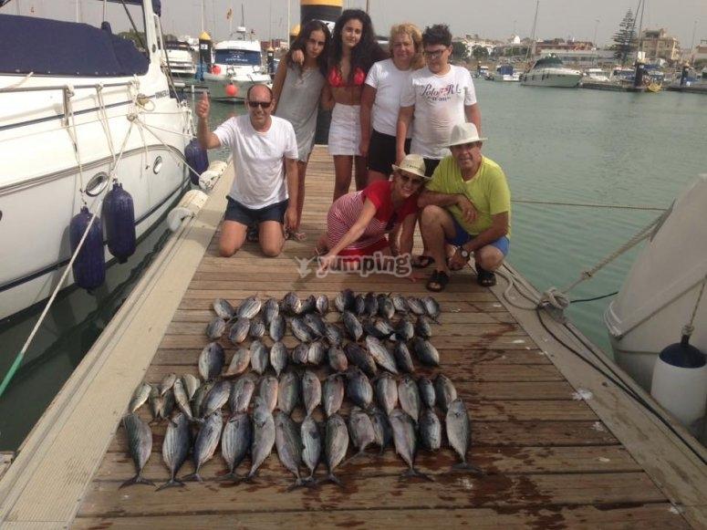 Pesca en Cádiz