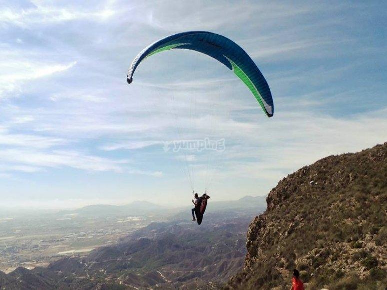Parapente en Agost Alicante