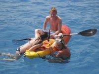 tenemos kayak a bordo
