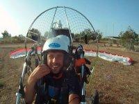 在Playa de Es Trenc的Paramotor航班30分钟
