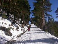 Ejercicio en la nieve