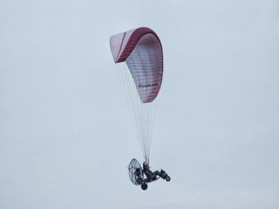 Two-seater paramotor flight, video Alarilla 20 min