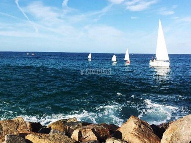 Paisaje marítimo en el municipio de Foz
