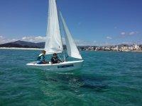 Foz的成人帆船课程为2小时