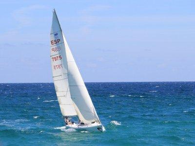 在福兹的帆船课程