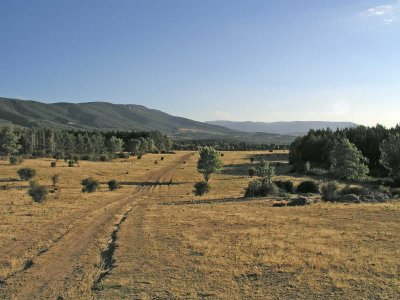 穿过Sierra de La Mancha