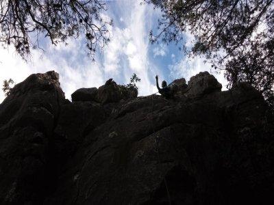 在马拉加参加冒险活动的生日