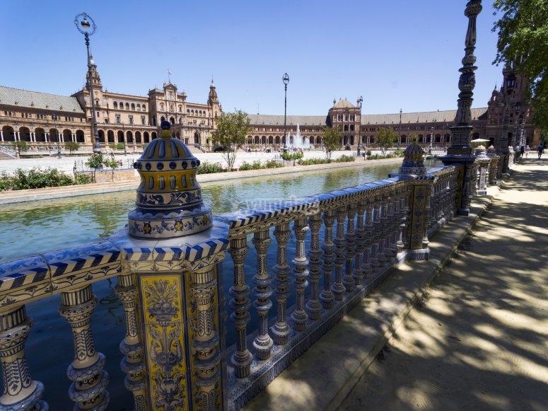 Rincones de la Plaza de Sevilla