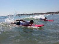 Castelldefels基础4小时的冲浪课程