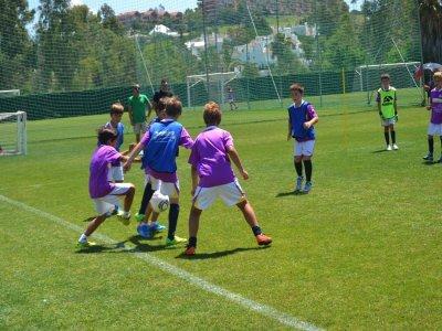 Campus intensivo de fútbol 1 semana en Marbella