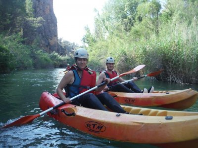Ruta en kayak en Fuensanta 2 horas