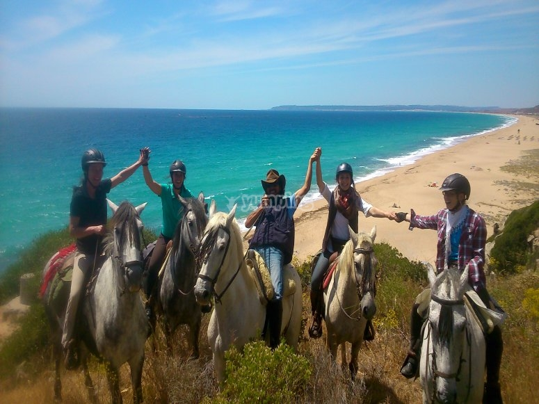 Horse riding trail