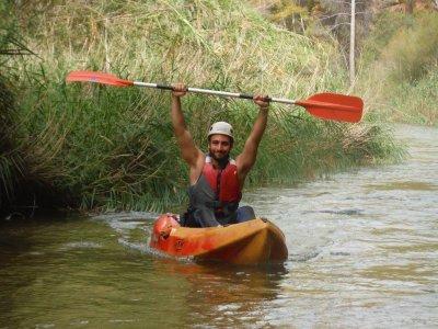 皮划艇在塞古拉河白水2和3级