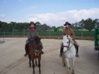 Abrigadas para ir a caballo