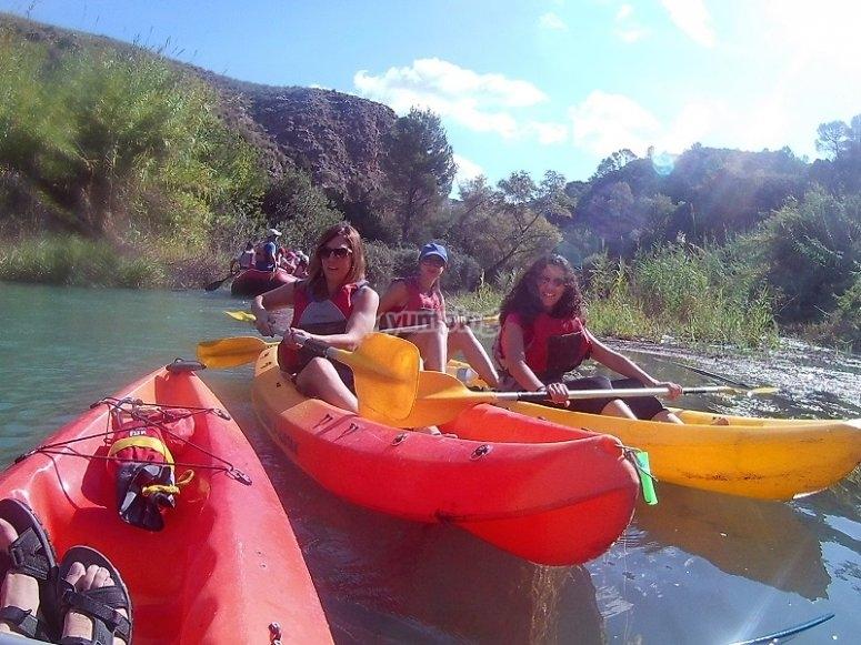 Canoe fleet