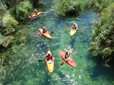 Kayaking in White Waters, Alto Tajo, 1-Day