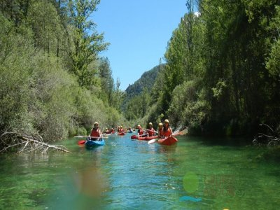 Kayaking Tour, Alto Tajo Natural Reserve