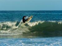 Piruetas en las olas