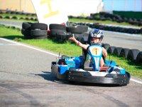 Kart a Malaga per bambini, una carriera