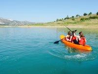Kayak en embalse