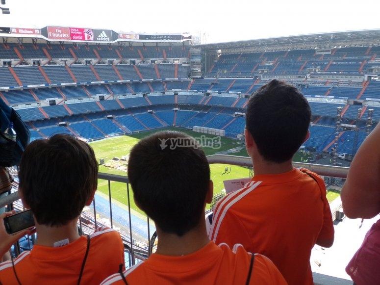 Vista del estadio