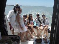 celebrando despedida soltera alta mar