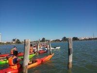 Curso de kayak en Cádiz de 1 hora