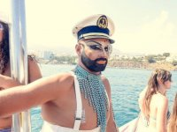 Capitan de la boat party